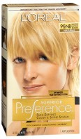 L'Oreal Superior Preference - 9-1/2NB Lightest Natural Blonde (Natural) 1 Each [071249253304]