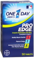 One-A-Day Men's Pro Edge Complete Multivitamin 50 Tablets [016500541189]
