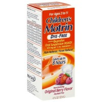 Motrin Children's Dye-Free Pain Reliever/Fever Reducer, Original Berry Flavor 4 oz [300450184047]