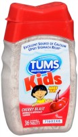 TUMS Kids Tablets Cherry Blast 36 Tablets [307667980004]
