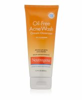 Neutrogena Oil-Free Acne Wash Cream Cleanser 6.70 oz [070501028308]