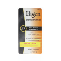 Bigen Permanent Powder Hair Color 57 Dark Brown 1 ea [033859905578]