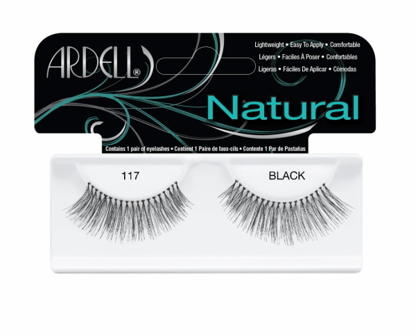 5186cee7084 Ardell Fashion Lashes, Black [117] 1 pair [074764617101]