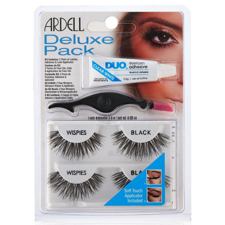 Ardell Deluxe Pack Wispies with Applicator 1 ea [074764689474]