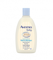 AVEENO Baby Wash & Shampoo, Lightly Scented 12 oz [381370042303]