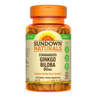 Sundown Ginkgo Biloba Plus Tablets 100 Tablets [030768125080]