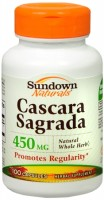 Sundown Cascara Sagrada 450 mg Capsules 100 Capsules [030768011895]