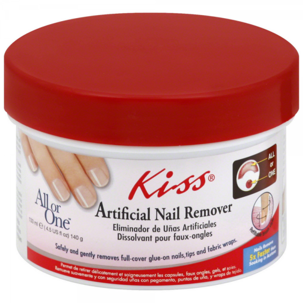 KISS All or One Artificial Nail Remover 4.50 oz - Stockn\'Go