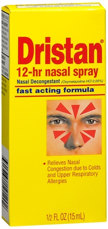 Dristan 12-Hour Nasal Spray 0.50 oz [305731191202]