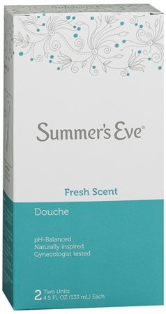 Summer's Eve Douche Fresh Scent 2 Each [041608087406]