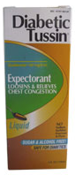 Diabetic Tussin Expectorant Liquid 4 oz [760569063044]