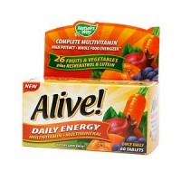Alive! Daily Energy Multivitamin 60 ea [033674601921]