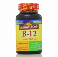 Nature Made Vitamin B-12 1000 mcg Timed Release Tablets  160 ea [031604027315]