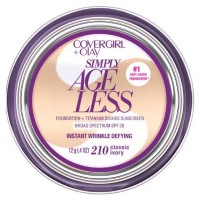 CoverGirl & Olay Simply Ageless Foundation, Classic Ivory [210] 0.40 oz [008100007950]