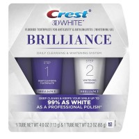 Crest 3D White Brilliance Daily Cleansing Toothpaste & Whitening Gel System 1 ea [037000938781]