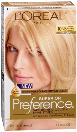 L'Oreal Superior Preference - 10NB Ultra Natural Blonde (Natural) 1 Each [071249253342]