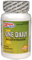 One Daily MultiVitamin Tablets 100 ea [632131819017]