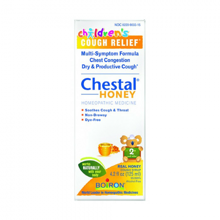 Boiron Chestal Cough Syrup For Children 4.20 oz [306969033159]