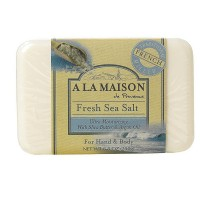 A LA MAISON Bar Soap, Fresh Sea Salt  8.8 oz [817252011247]
