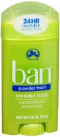 Ban Anti-Perspirant Deodorant Invisible Solid Powder Fresh 2.60 oz [019045010271]