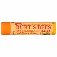 Burt's Bees 100% Natural Nourishing Lip Balm, Mango Butter 1 ea [792850007406]