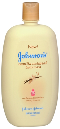 JOHNSON'S Vanilla Oatmeal Baby Wash 28 oz [381370040248]