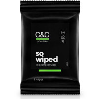 C&C by Clean & Clear so wiped tropical face wipes 7 wipes [381371181001]