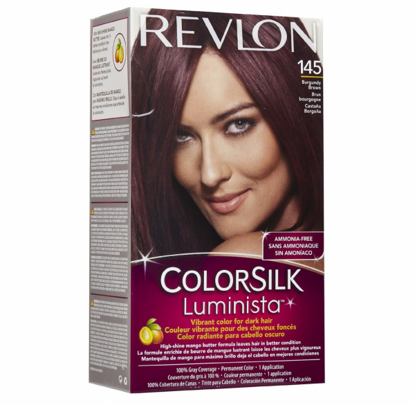 Revlon Colorsilk Luminista Hair Color 145 Burgundy Brown 1 Ea