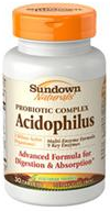 Sundown Naturals Multi-Enzyme Acidophilus Tablets 30 ea [030768295899]
