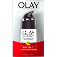OLAY Regenerist Advanced Anti-Aging Moisturizing Lotion with Sunscreen SPF 50 1.70 oz [075609032981]