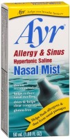 Ayr Nasal Mist Allergy and Sinus 50 mL [302250381800]