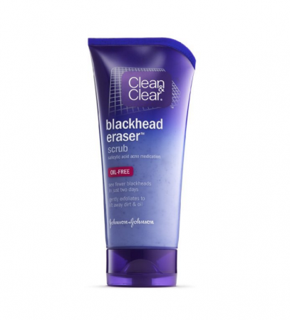 CLEAN & CLEAR Blackhead Eraser Scrub Oil-Free 5 oz [381370035930]