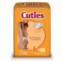 Cuties Premium Diapers Size 6 23 Each [037867880056]
