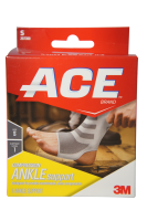 ACE Ankle Compression Ankle Support, Small 1 each  [051131198074]