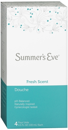 Summer's Eve Douches Fresh Scent 4 Each [041608874044]
