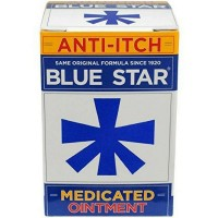 Blue Star Anti-Itch Medicated Ointment 2 oz [368429201027]