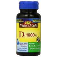 Nature Made Vitamin D3 Liquid Softgels 100 ea [031604026752]