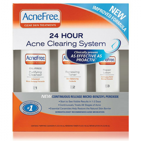 AcneFree 24 Hour Acne Clearing System 1 kit [301871610030]