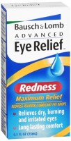 Bausch & Lomb Advanced Eye Relief Redness Maximum Relief Eye Drops 0.50 oz [310119020685]