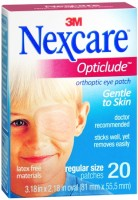 Nexcare Opticlude Orthoptic Eye Patches Regular 20 Each [051131000230]