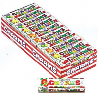 Charms Squares Assorted Fruit Flavor 20 packs (1 oz per pack)  [014200309856]