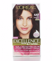 L'Oreal Paris Excellence Creme Triple Protection Hair Color, Dark Chocolate Brown [G15] 1 ea [071249121450]