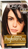 L'Oreal Superior Preference - 2B Purest Black (Natural) 1 Each [071249138601]