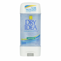 Dry Idea Advanced Dry Unscented Antiperspirant & Deodorant Clear Gel 3 oz [017000068176]