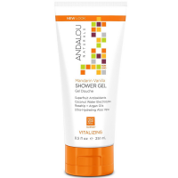 Andalou Naturals Vitalizing Shower Gel, Mandarin Vanilla 8.5 oz [859975020229]