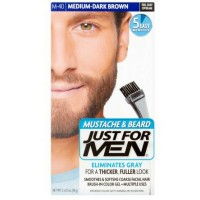 JUST FOR MEN Brush-In Color Gel, Medium-Dark Brown M-40 1 ea [011509049117]
