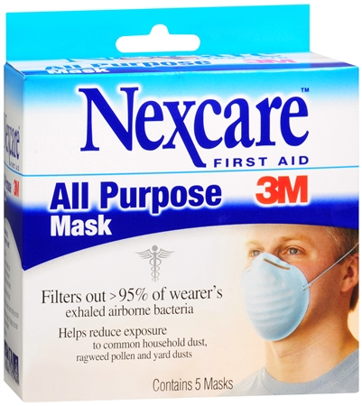Nexcare All Purpose Masks 5 Each [051131015944]