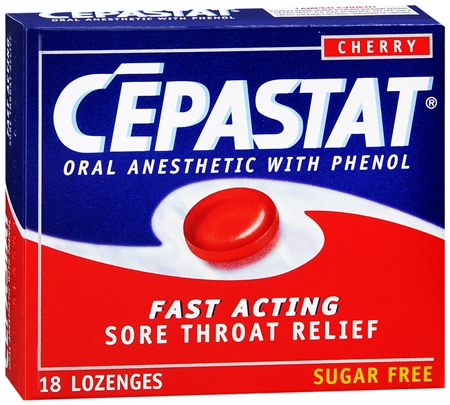 Cepastat Lozenges Sugar Free Cherry 18 Each [363736204181]