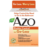AZO Bladder Control with Go-Less Capsules 54 ea [787651760025]
