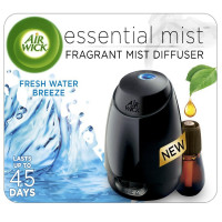 Air Wick Essential Mist Fragrant Mist Diffuser, Fresh Water Breeze 1 ea [062338985770]